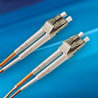 LC/LC multimode fiber cables