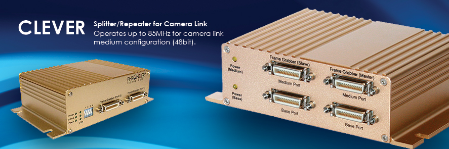 CLEVER Camera Link Splitter/Repeater/Switch